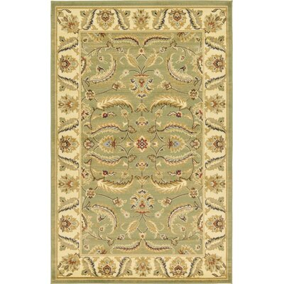 Fairmount Green Area Rug Rug Size: 5 x 8