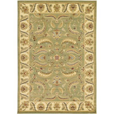 Fairmount Green Area Rug Rug Size: 7 x 10