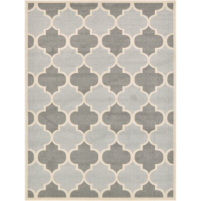 Moore Silver Area Rug Rug Size: 9 x 12
