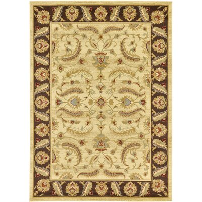 Fairmount Cream Area Rug Rug Size: 7 x 10