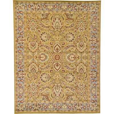 Fairmount Tan Area Rug Rug Size: 9 x 12