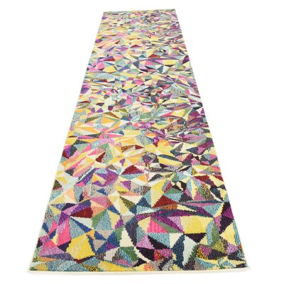 Aquarius Area Rug Rug Size: Runner 22 x 67