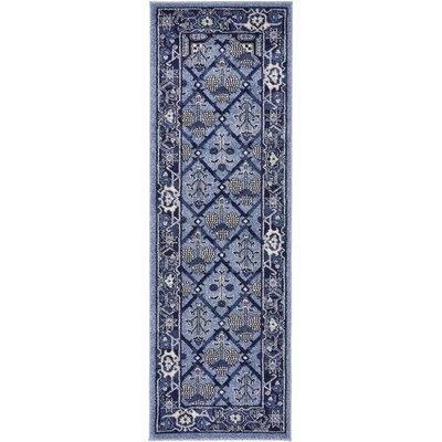 Katiranoma Blue Area Rug Rug Size: 2 x 6