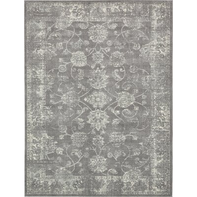 Akerlund Dark Gray Area Rug Rug Size: Rectangle 9 x 12