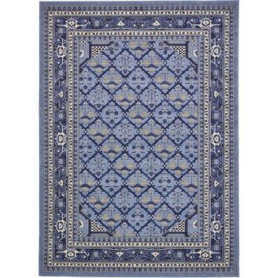 Katiranoma Blue Area Rug Rug Size: 8 x 11