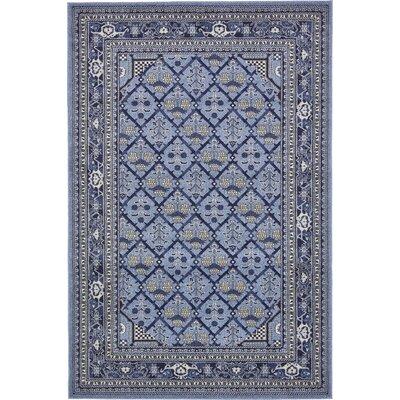 Katiranoma Blue Area Rug Rug Size: 6 x 9