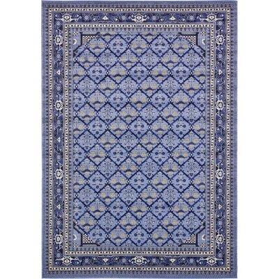 Katiranoma Blue Area Rug Rug Size: 10 x 14