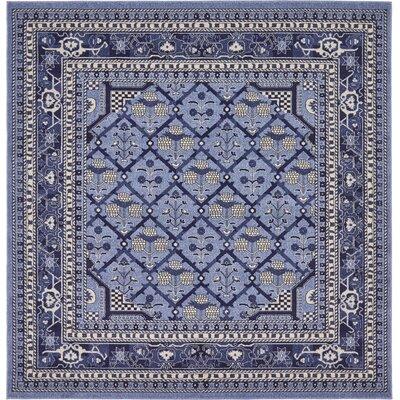 Katiranoma Blue Area Rug Rug Size: Square 6