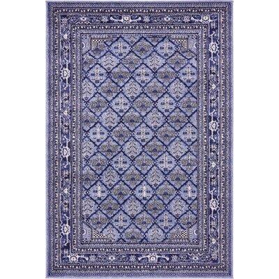 Katiranoma Blue Area Rug Rug Size: 4 x 6