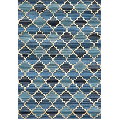 Alice Blue Indoor/ Outdoor Area Rug Rug Size: Rectangle 4 x 6