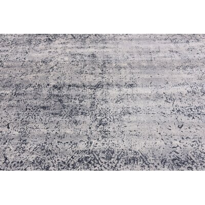 Abbeville Dark Blue/Gray Area Rug Rug Size: Rectangle 8 x 10