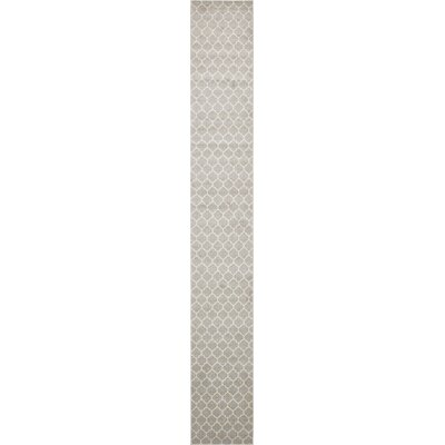 Moore Gray Area Rug Rug Size: Runner 27 x 198