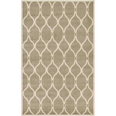 Molly Beige Area Rug Rug Size: Rectangle 5 x 8