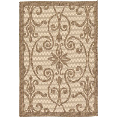 Gerald Brown Outdoor Area Rug Rug Size: Rectangle 22 x 3