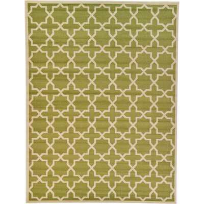Moore Light Green Area Rug Rug Size: Rectangle 9 x 12