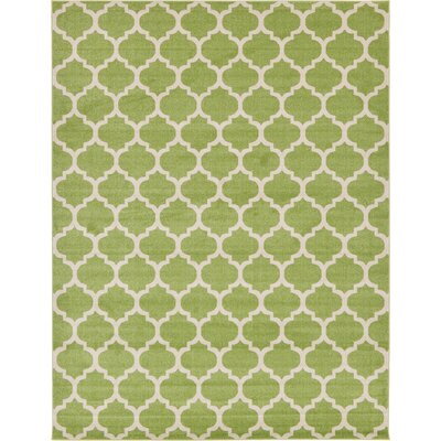 Emjay Light Green Area Rug Rug Size: 10 x 13