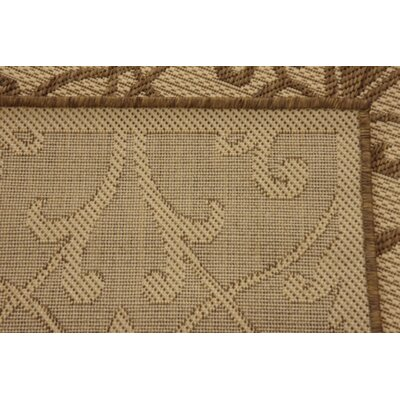 Gerald Brown Outdoor Area Rug Rug Size: Rectangle 33 x 5