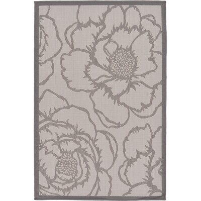 Amelia Gray Outdoor Area Rug Rug Size: Rectangle 33 x 5