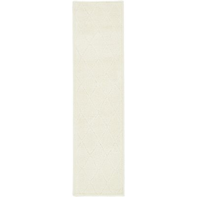 Catherine Ivory Area Rug Rug Size: Runner 27 x 10