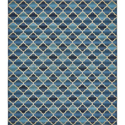 Alice Blue Indoor/ Outdoor Area Rug Rug Size: Rectangle 8 x 114