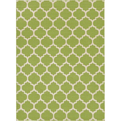 Emjay Light Green Area Rug Rug Size: 8 x 11