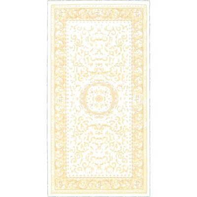 Layton Beige Area Rug Rug Size: Rectangle 27 x 5