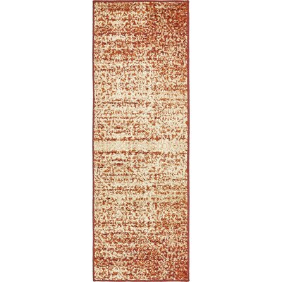 Hedwig Terracotta Area Rug Rug Size: Runner 2 x 6