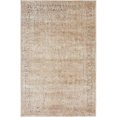 Abbeville Ivory Area Rug Rug Size: 4 x 6