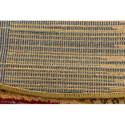 Jan Tan Indoor/Outdoor Area Rug Rug Size: 33 x 53