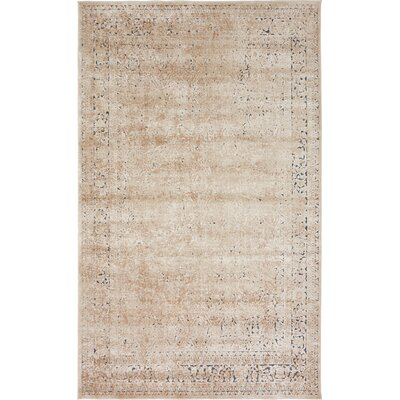 Abbeville Ivory Area Rug Rug Size: Rectangle 5 x 8