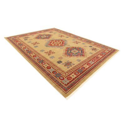 Valley Light Brown Area Rug Rug Size: 10 x 13