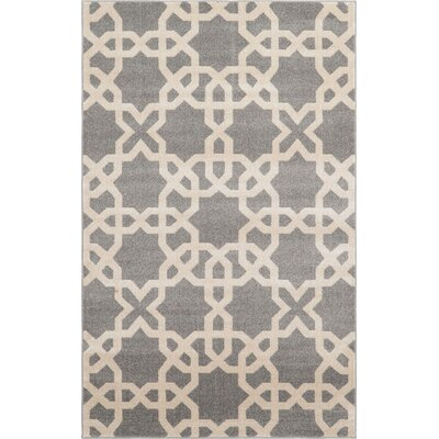 Moore Gray Area Rug Rug Size: 5' x 8'