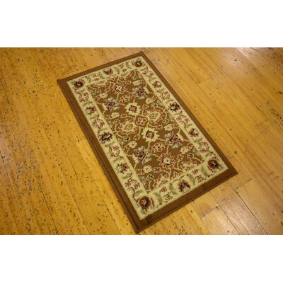 Defranco Brown/Beige Indoor Area Rug