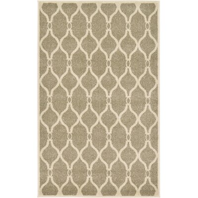 Molly Beige Area Rug Rug Size: Rectangle 33 x 53