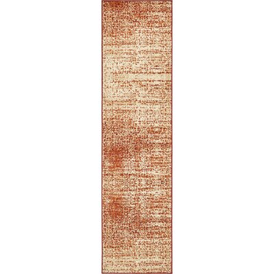 Hedwig Terracotta Area Rug Rug Size: Runner 26 x 10