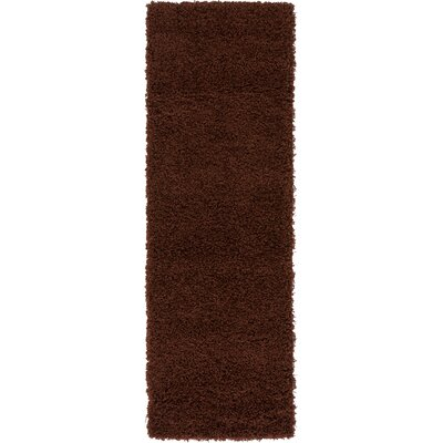 Chandler Brown Area Rug Rug Size: Rectangle 22 x 65
