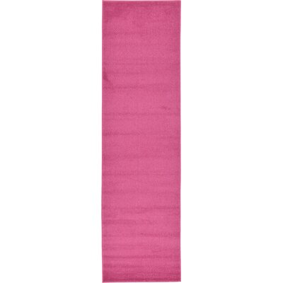 Sellman Pale Pink Area Rug Rug Size: Runner 27 x 910