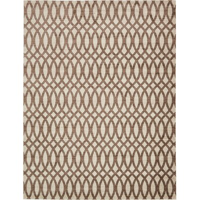 Greene Brown/Beige Area Rug Rug Size: 10 x 13