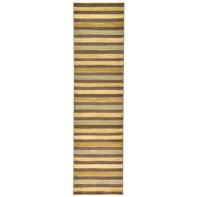 Langham Brown Area Rug Rug Size: Runner 2'7