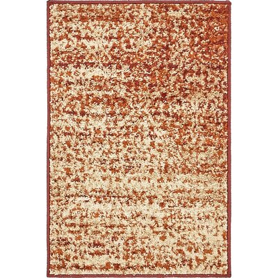 Hedwig Terracotta Area Rug Rug Size: Rectangle 2 x 3