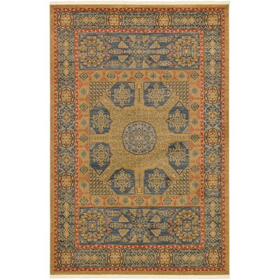 Laurelwood Brown Area Rug Rug Size: 6 x 9