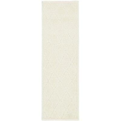 Catherine Ivory Area Rug Rug Size: Runner 2 x 67