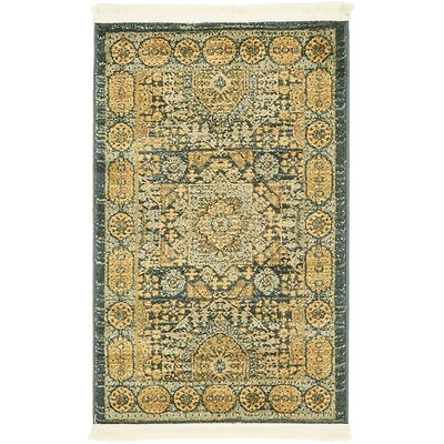 Laurelwood Brown Area Rug Rug Size: 2 x 3