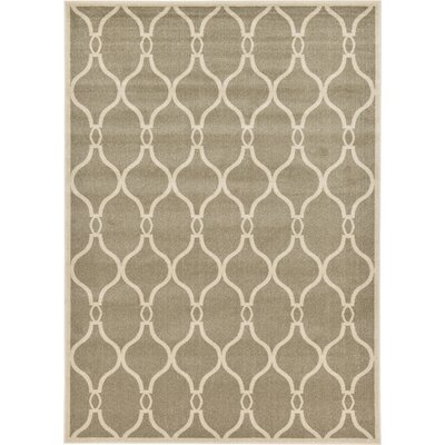 Molly Beige Area Rug Rug Size: 7 x 10