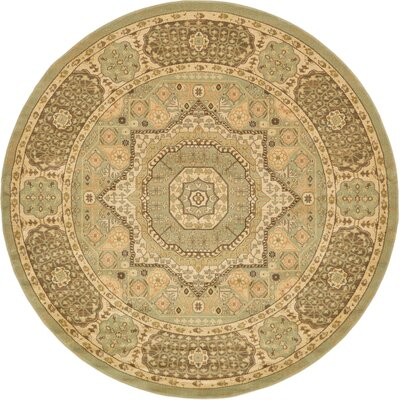 Laurelwood Area Rug Rug Size: Round 8