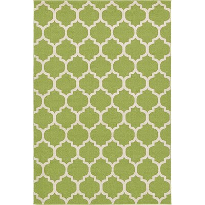 Emjay Light Green Area Rug Rug Size: 6 x 9