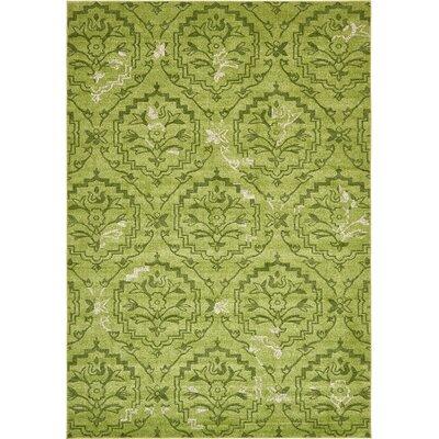 Carolyn Light Green Area Rug Rug Size: Rectangle 8 x 114
