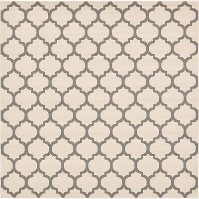 Moore Beige Area Rug Rug Size: Square 8