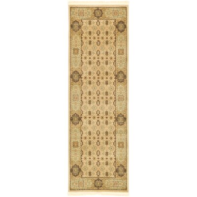Laurelwood Cream Area Rug Rug Size: Runner 2 x 6