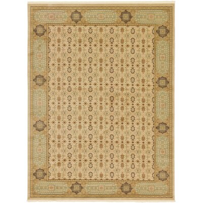 Laurelwood Cream Area Rug Rug Size: 9 x 12